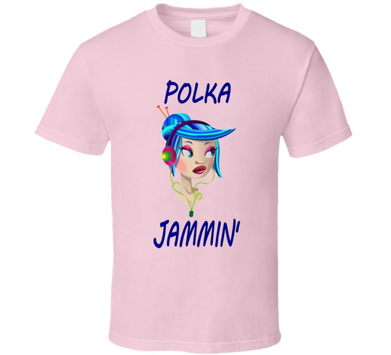 Polka Jammin' Girl V.2 T Shirt
