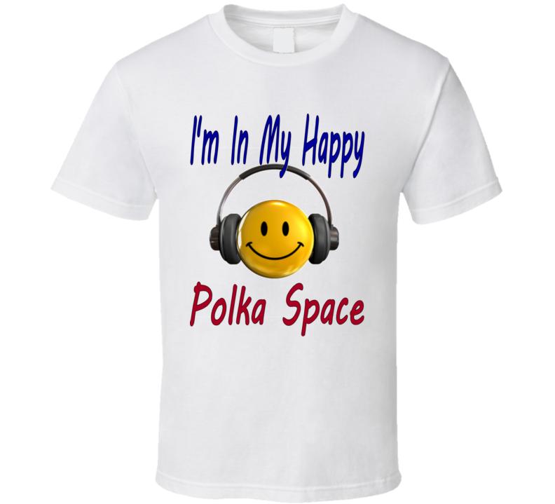 Happy Polka Space T Shirt