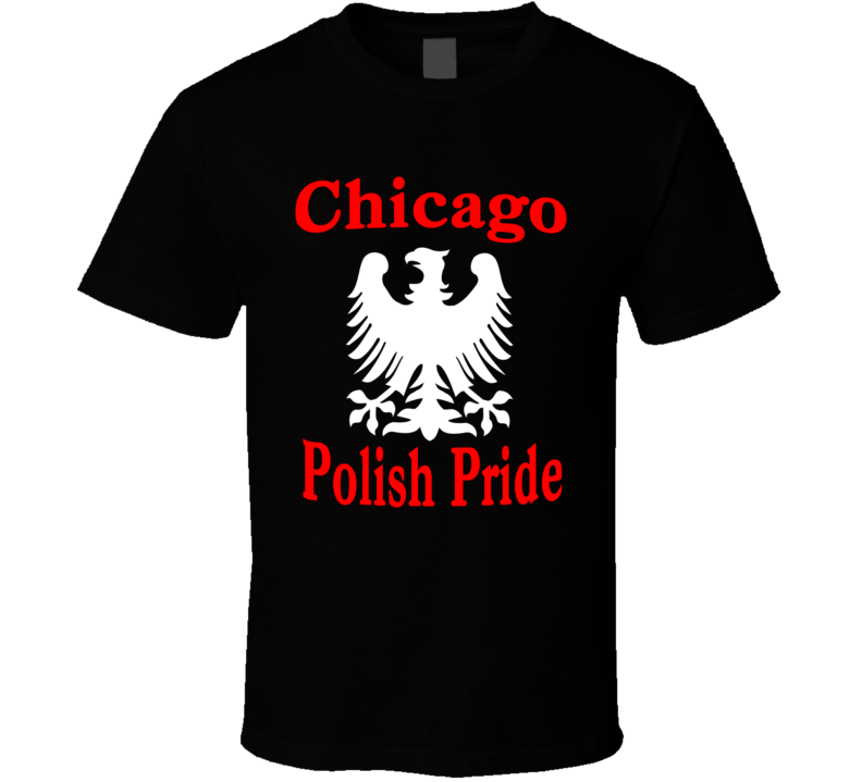 Chicago Polish Pride (White Eagle) T Shirt