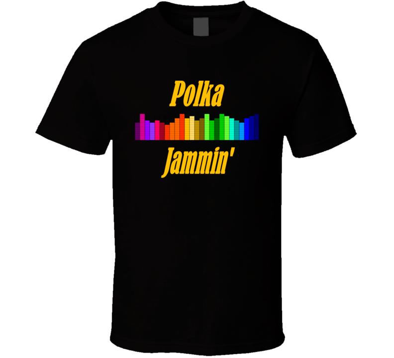Polka Jammin' (Yellow Text) T Shirt