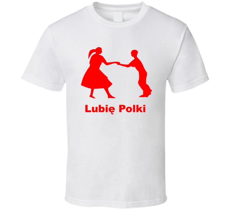 Lubię Polki Red T Shirt