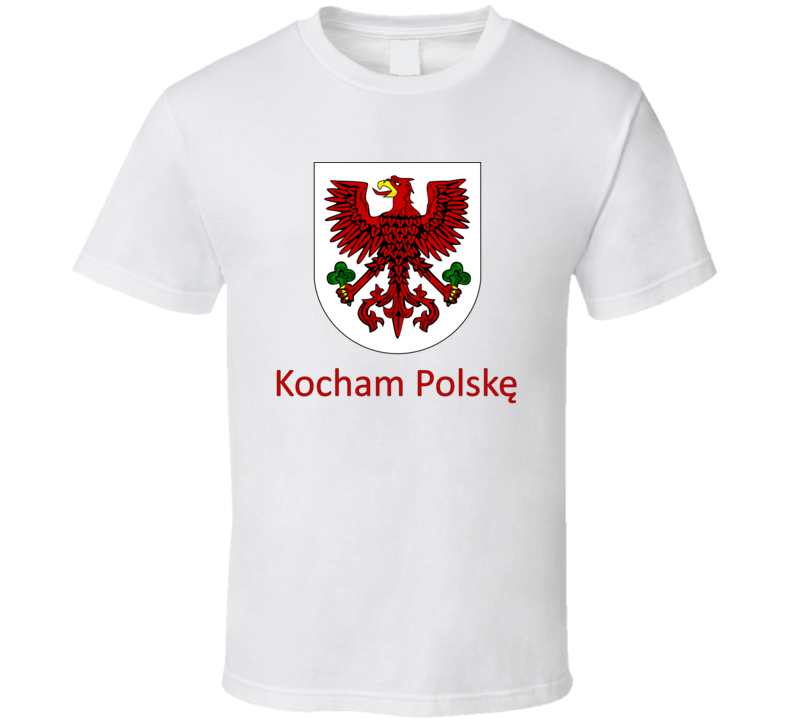 Kocham Polskę T Shirt