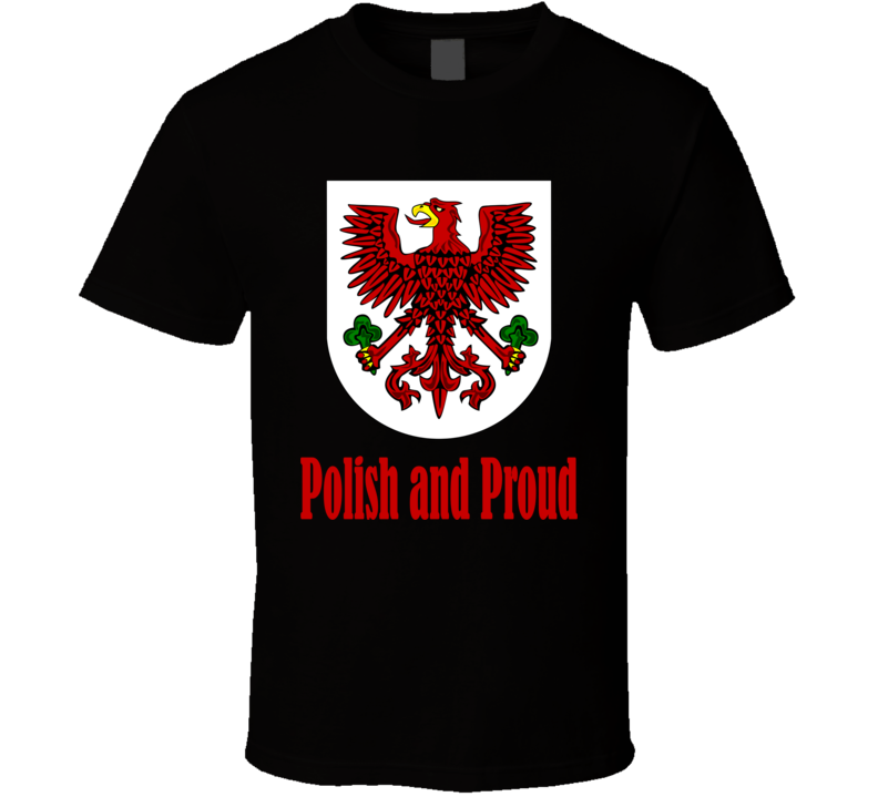 Polish and Proud with Eagle T Shirt