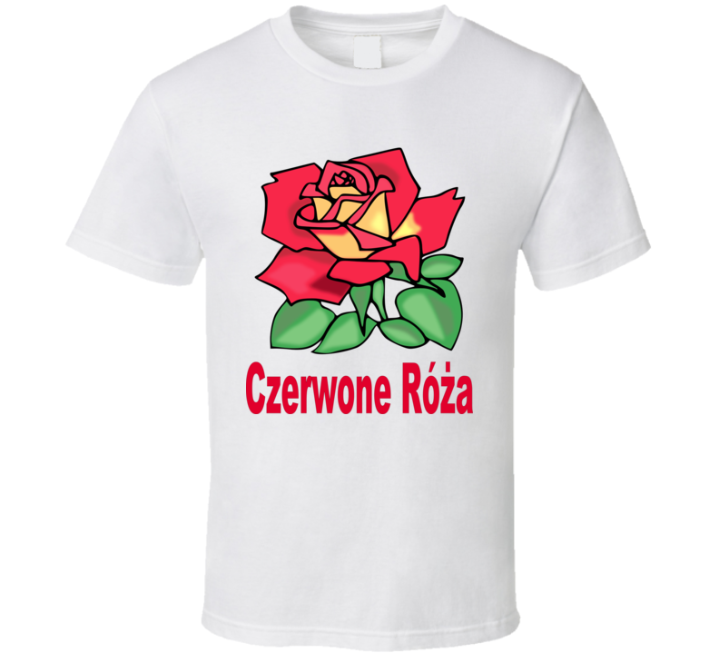 Czerwona Róża T Shirt