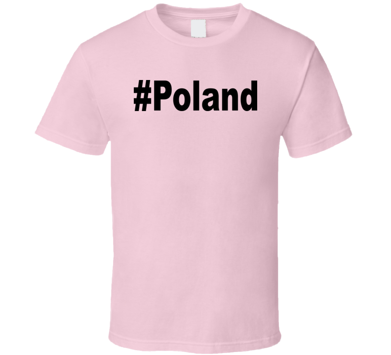#Poland v.2 T Shirt