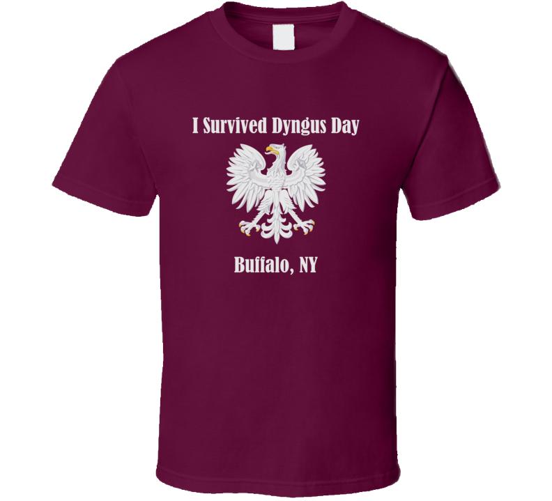 I Survived Dyngus Day v.1 T Shirt