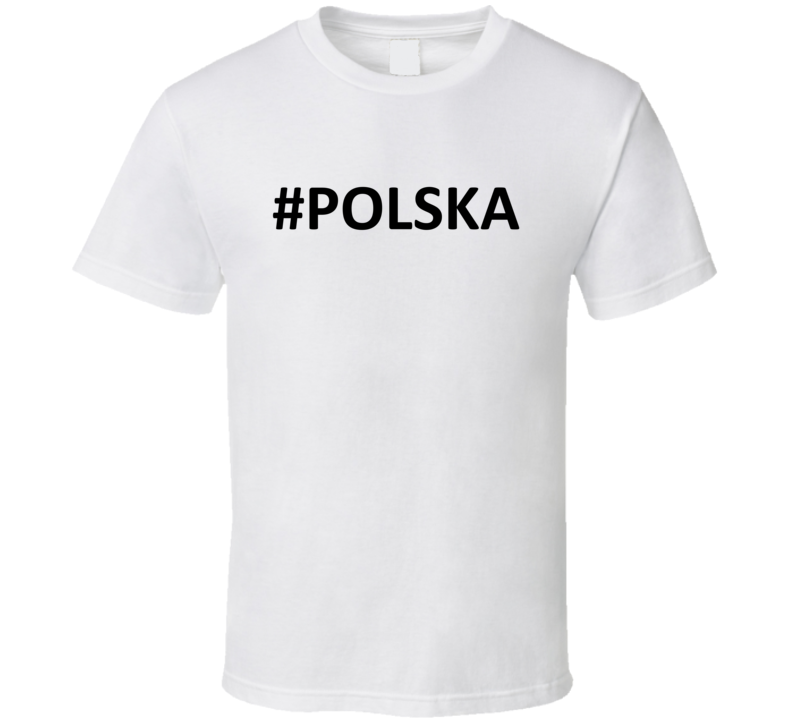 Hashtag Polska V.2 T Shirt