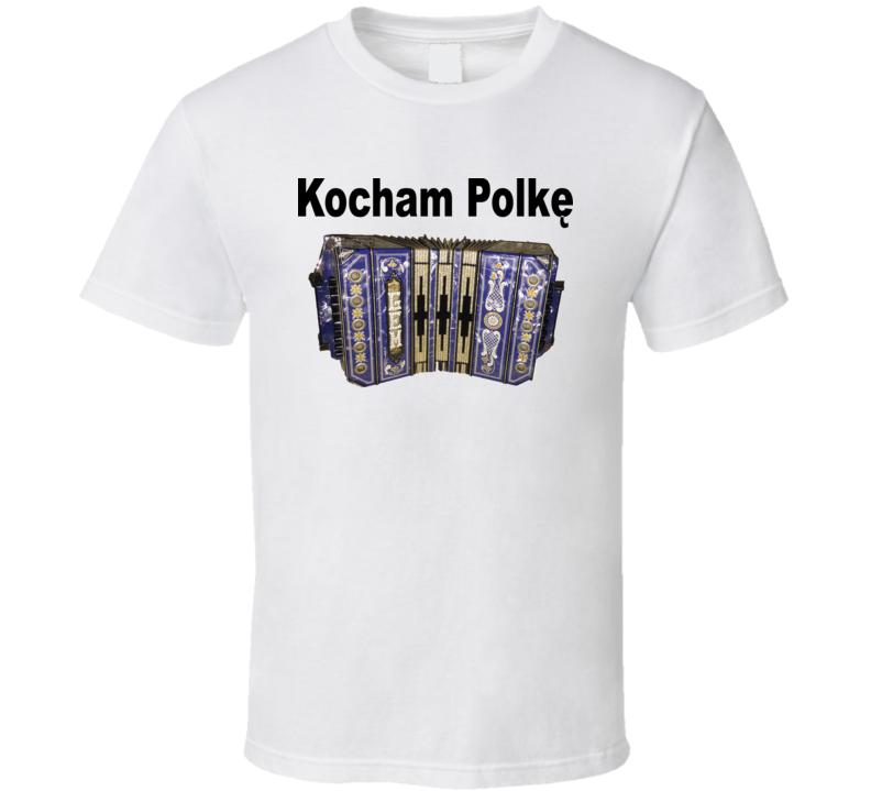 Kocham Polkę Concertina V.1 T Shirt
