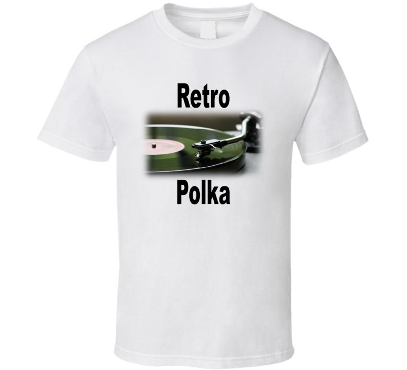 Retro Polka V.1 T Shirt