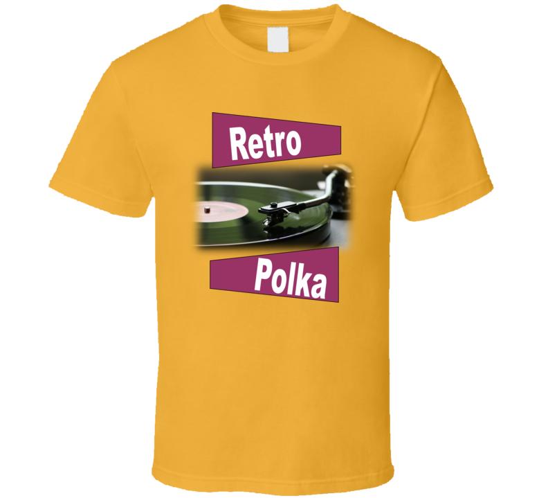 Retro Polka V.2 T Shirt