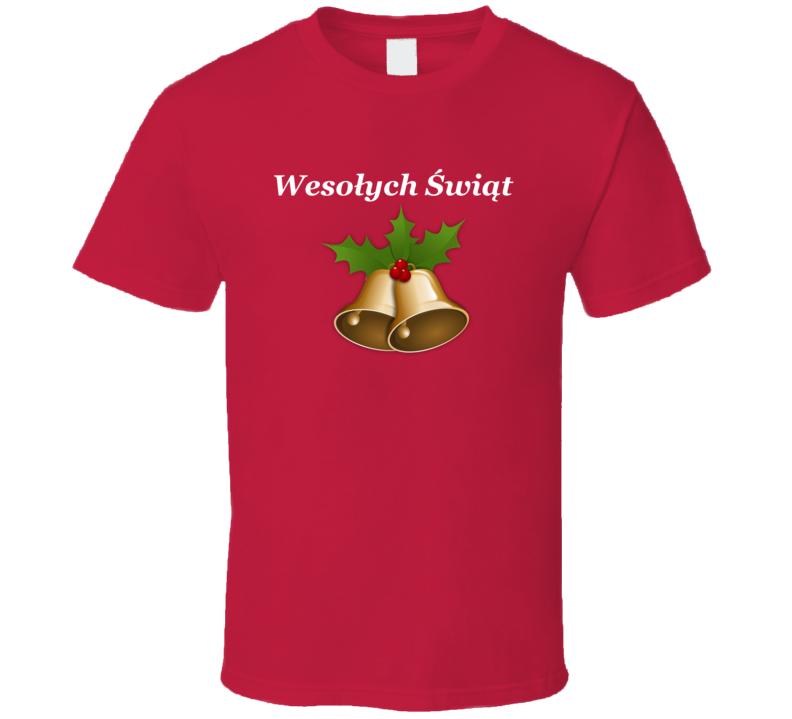 Wesołych Świąt V.1 T Shirt
