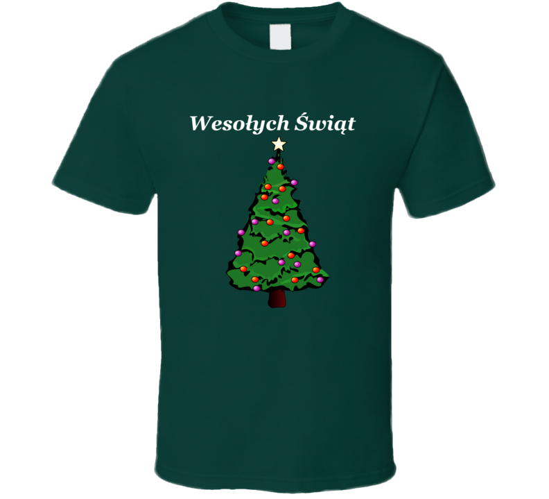 Wesołych Świąt V.3 T Shirt