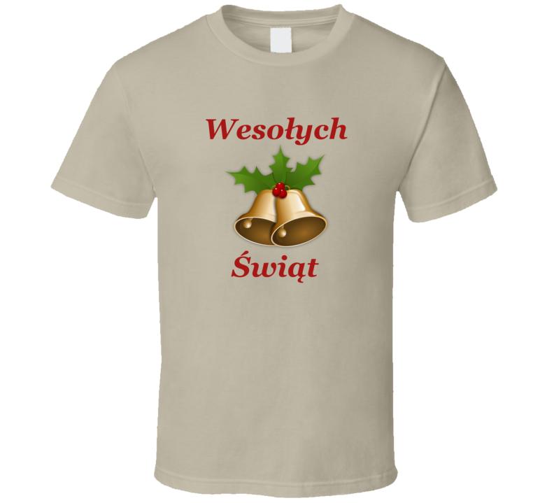 Wesołych Świąt V.5 T Shirt