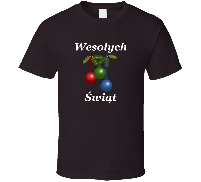 Wesołych Świąt V.7 T Shirt