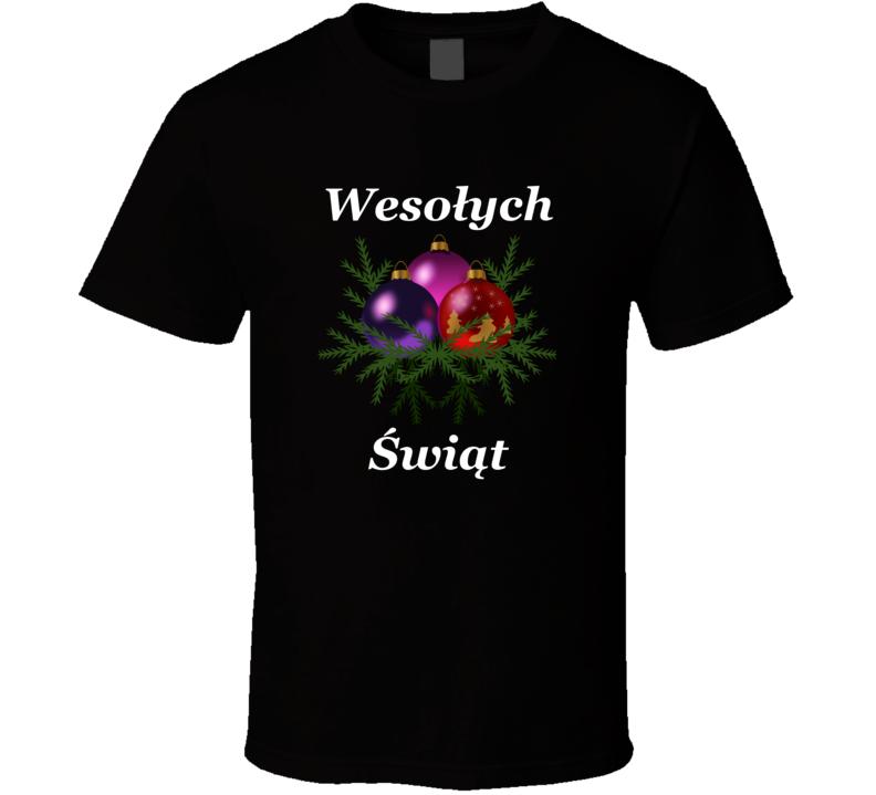 Wesołych Świąt V.9 T Shirt