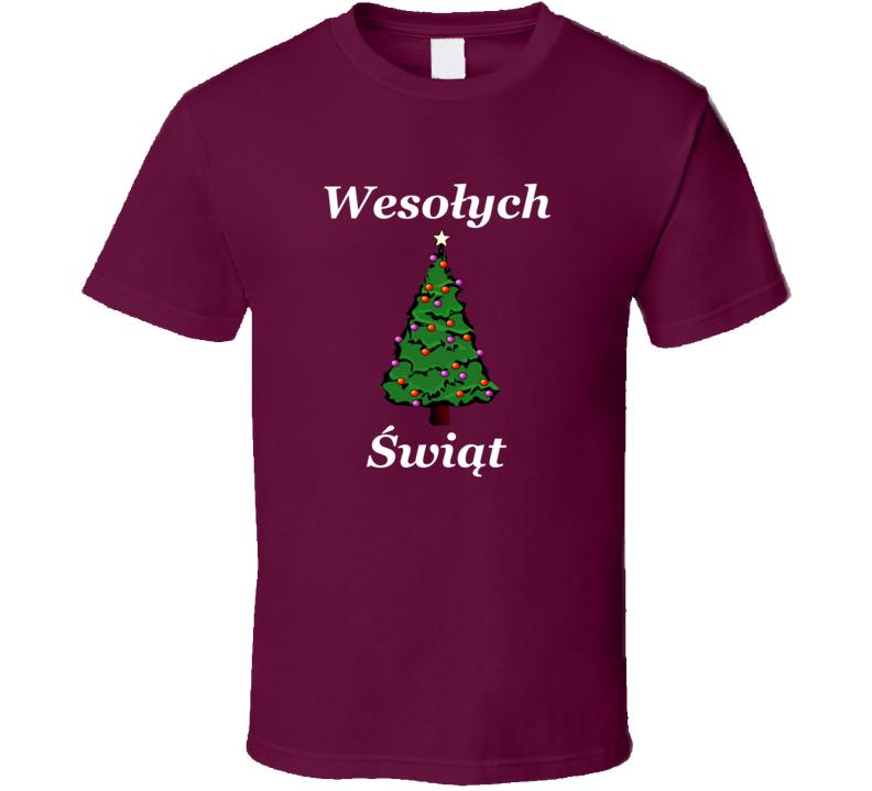 Wesołych Świąt V.10 T Shirt