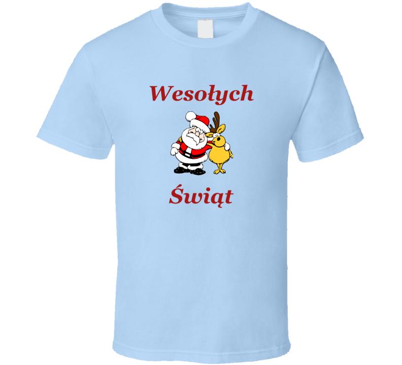 Wesołych Świąt V.13 T Shirt