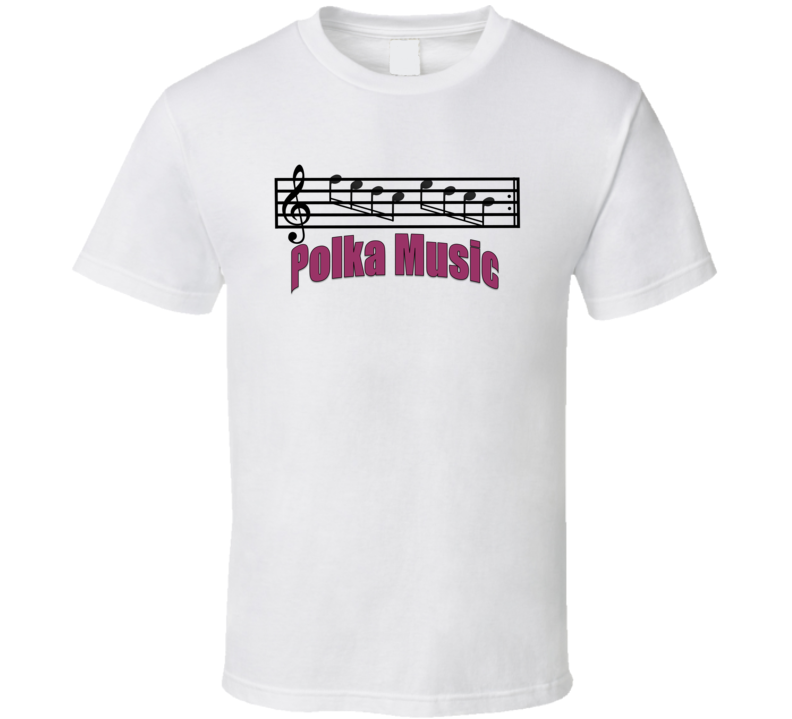 Polka Music With Staff V.1 T Shirt