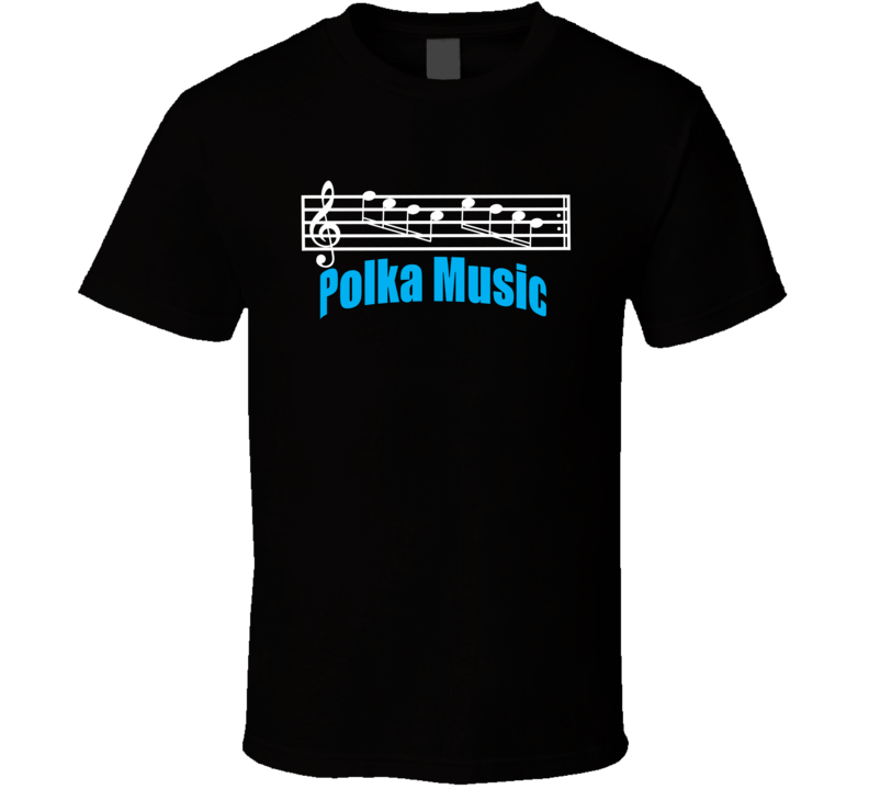 Polka Music With Staff V.2 T Shirt