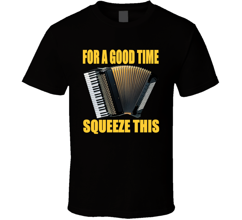 For A Good Time Squeeze This Accordion V.1 T Shirt