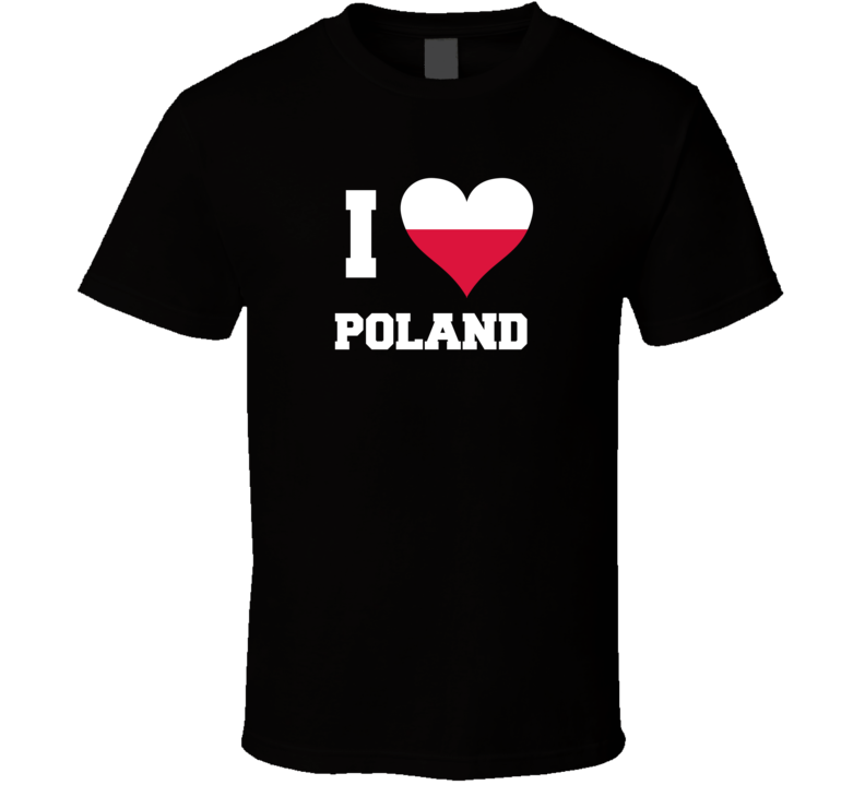 I Heart Poland V.1 T Shirt