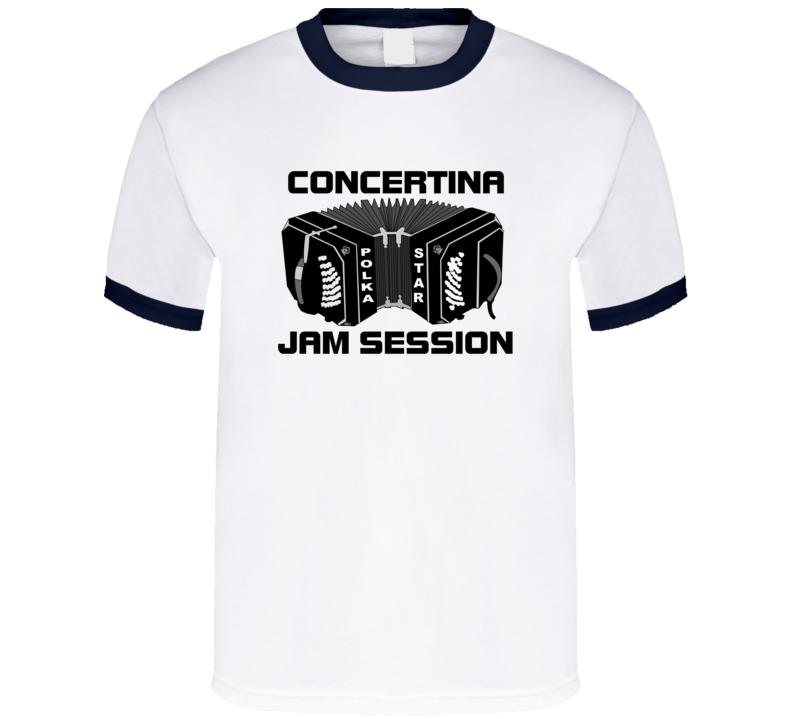 Concertina Jam Session V.1 T Shirt