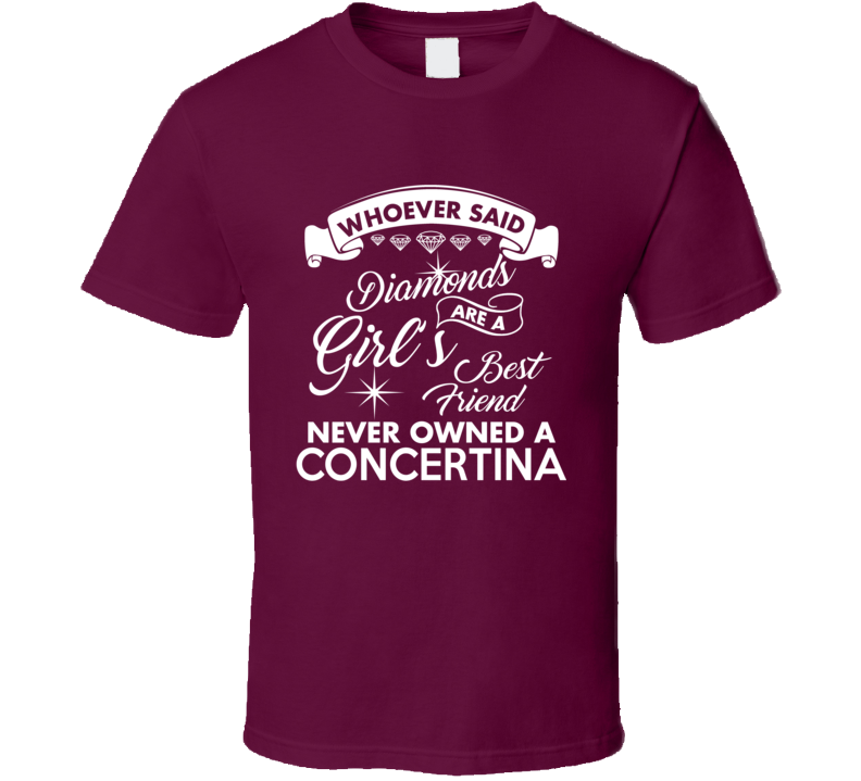 Girls, Diamonds And Concertina V.1 T Shirt