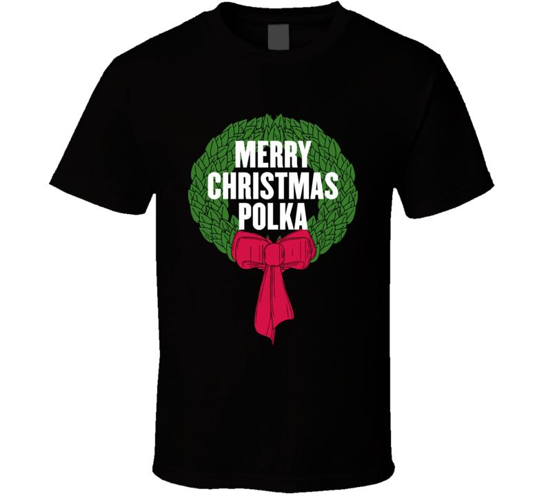 Merry Christmas Polka V.1 T Shirt