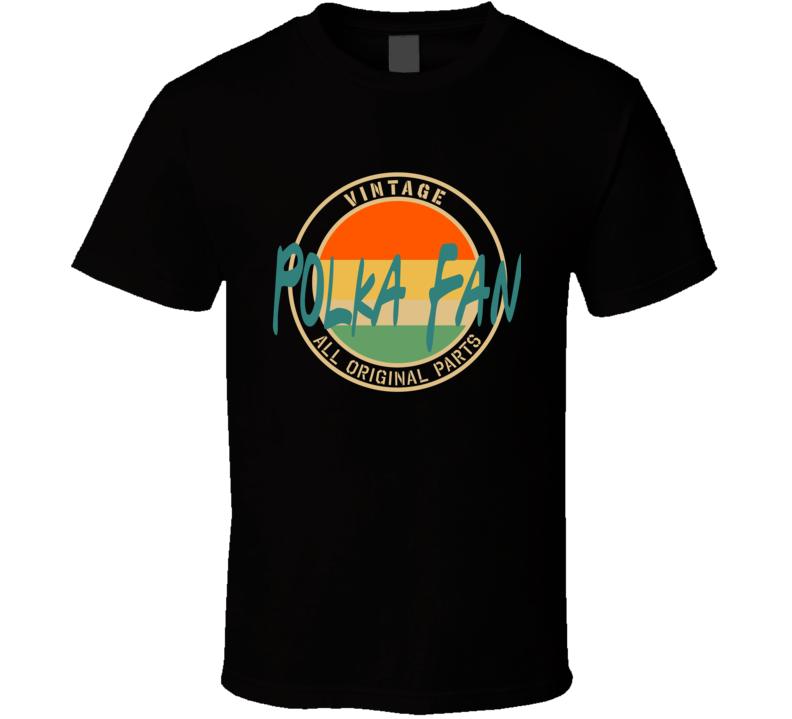 Vintage Polka Fan V.1 T Shirt