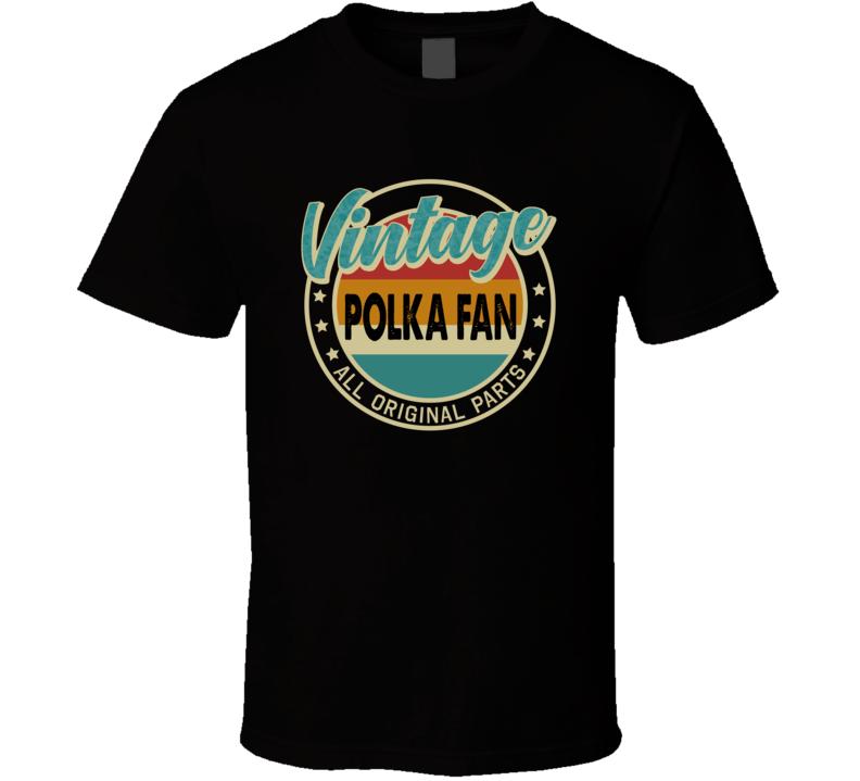 Vintage Polka Fan V.2 T Shirt