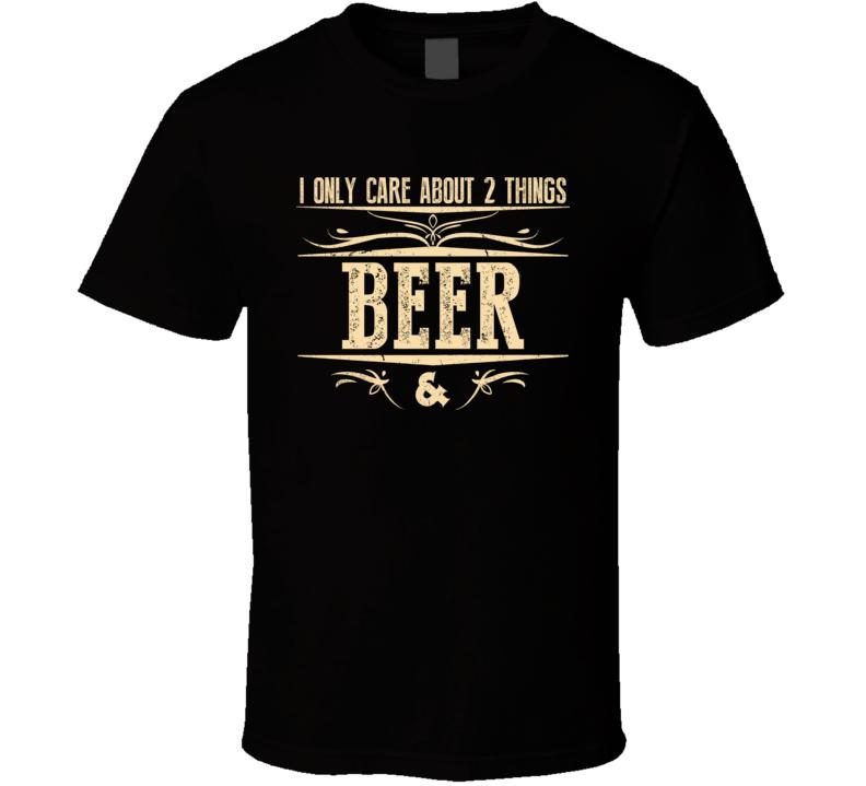 Beer & Money T Shirt