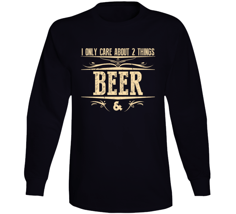 Beer & Money Long Sleeve