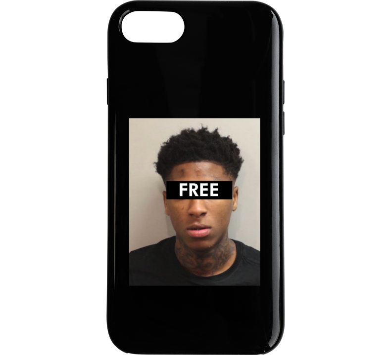 size 40 617b9 e4841 Cool Free Nba Youngboy Arrested Mug Shot Phone Case