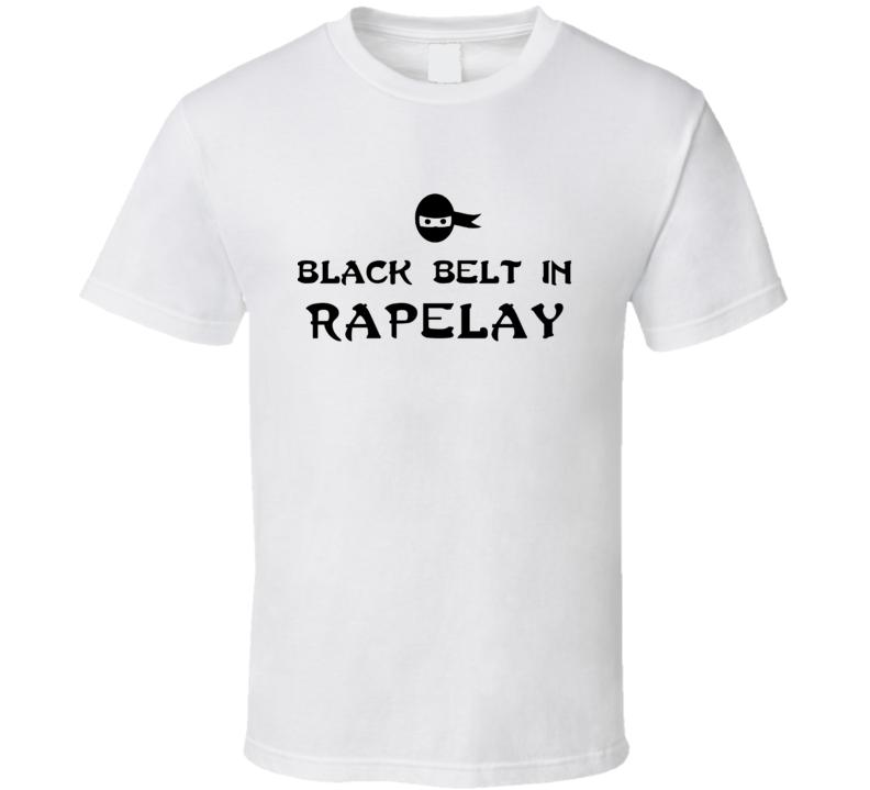 Black Belt In Rapelay Funny Video Game T Shirt
