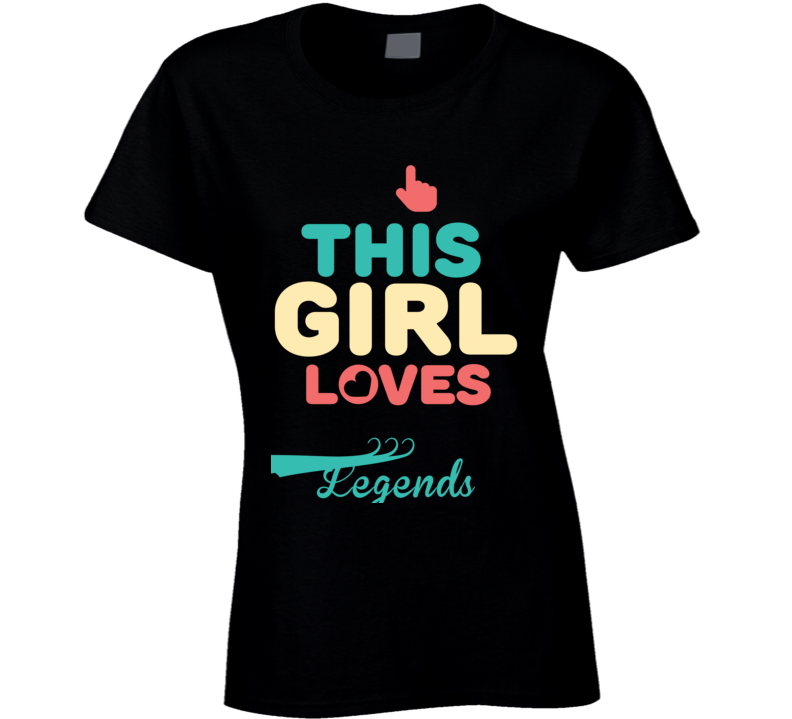 This Girl Loves 007 Legends Popular Favorite Video Game Fan T Shirt