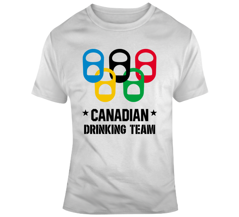 Canadian Drinking Team T Shirt