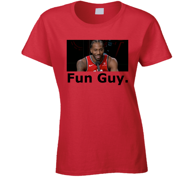 Kawhi Fun Guy.  T Shirt T Shirt