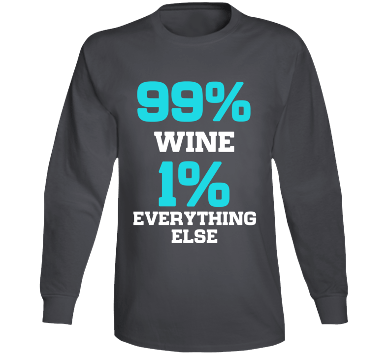 Wine Mom Drinking Fun T Shirt Long Sleeve