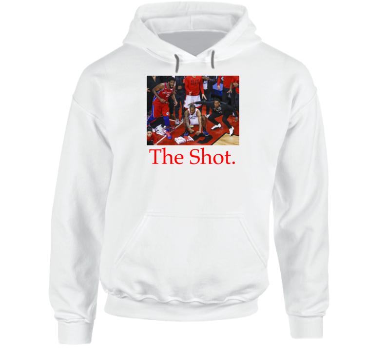 Kawhi Leonard The Shot Nba Basketball Toronto Raptors Playoff Game Winning Shot Hoodie