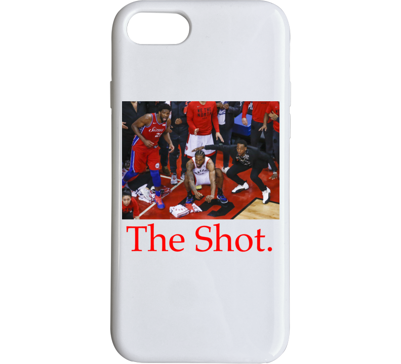 Kawhi Leonard The Shot Nba Basketball Toronto Raptors Playoff Game Winning Shot Phone Case