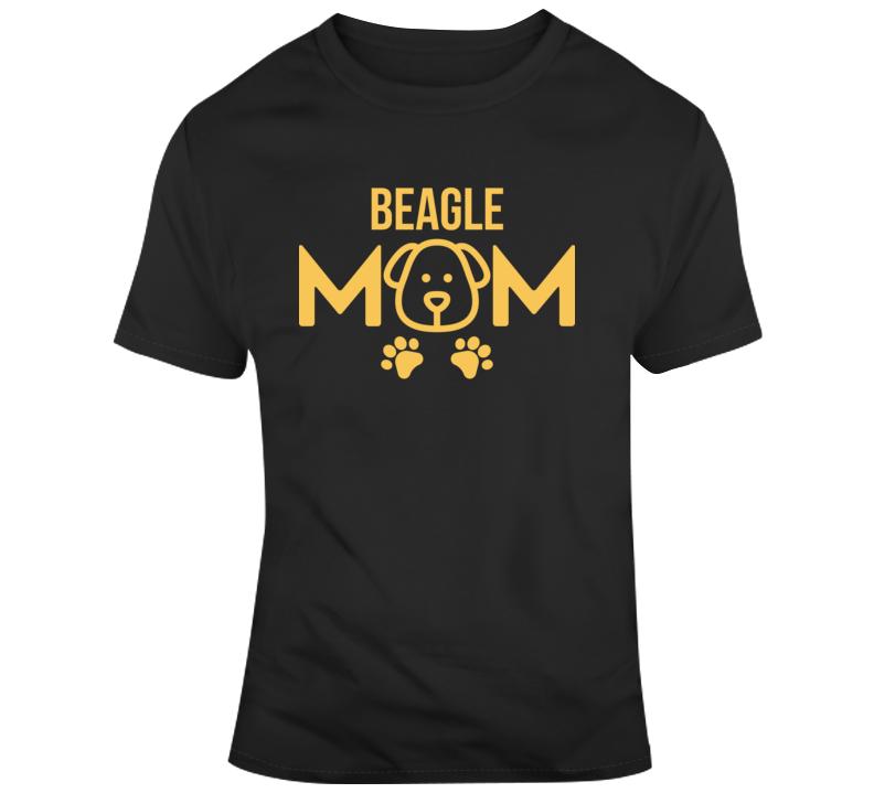 Beagle Mom Dog Lover Pet Owner Gift  T Shirt
