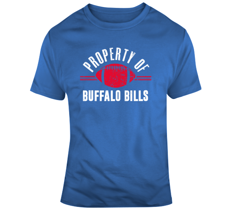 Property Of Buffalo Bills Nfl Football Sports Fan Gift T Shirt
