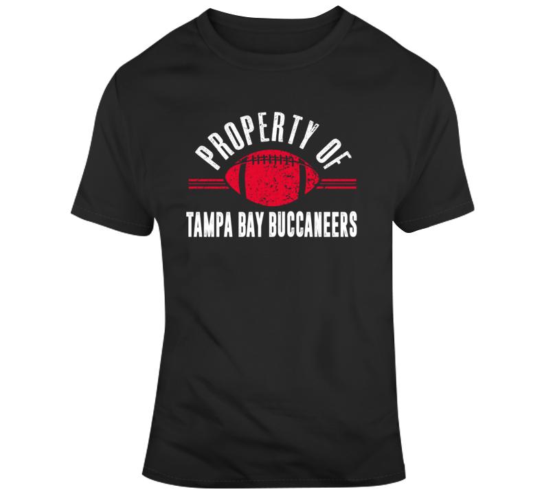 Property Of Tampa Bay Buccaneers Nfl Football Fan Gift T Shirt