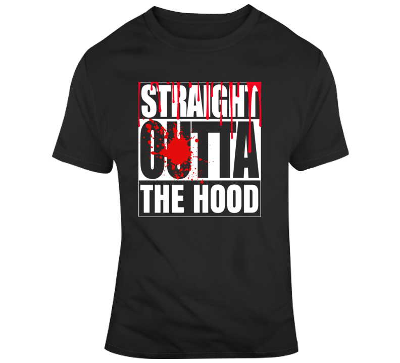 Straight Outta The Hood Straight Outta Compton T Shirt