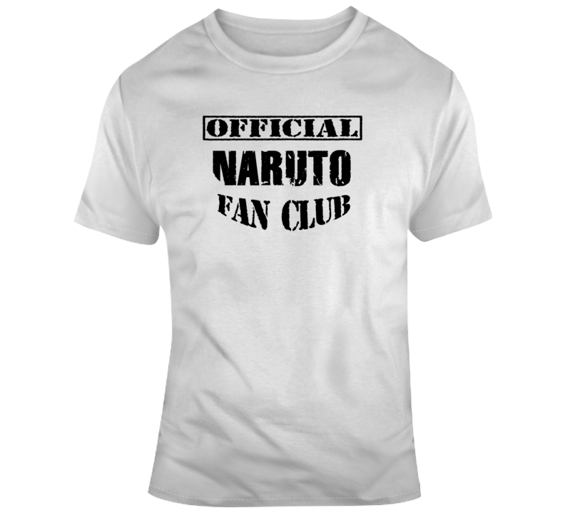 Offical Naruto Fan Club T Shirt