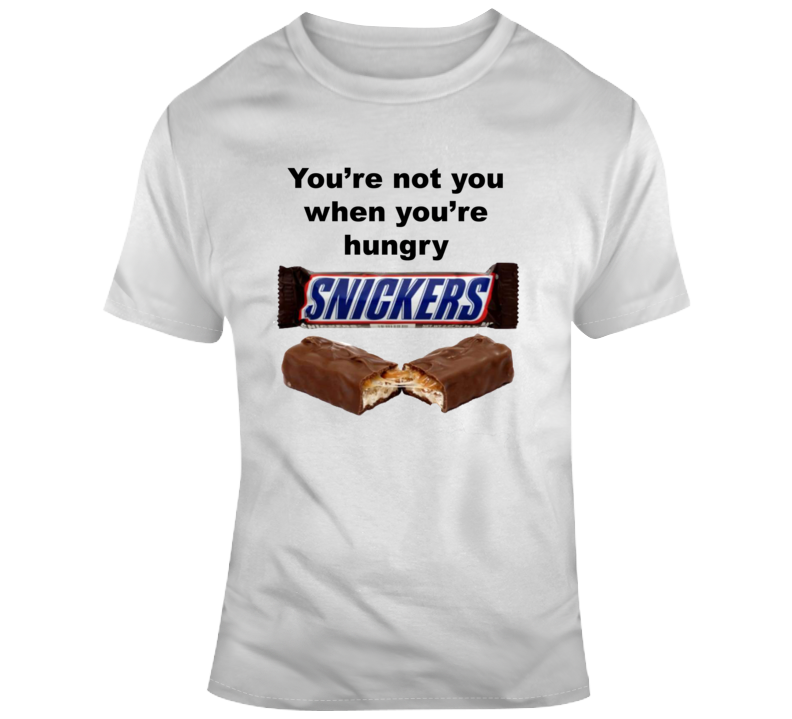 Snickers Candy Bar Gift T Shirt
