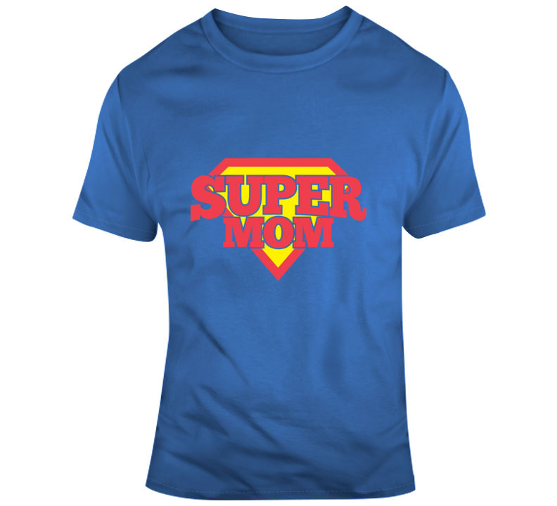 Super Mom Funny Superman Fan Mothers Day Gift T Shirt