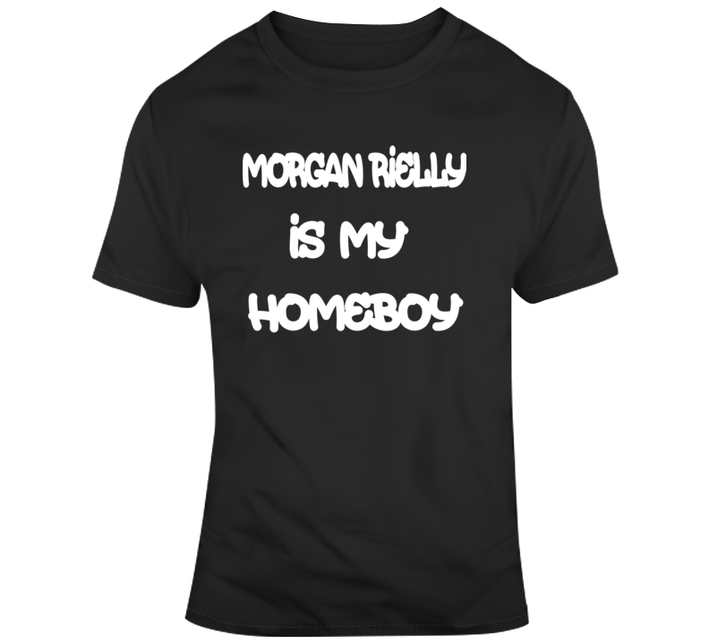 Morgan Rielly Is My Homeboy Funny Toronto Maple Leafs Nhl Hockey Fan Gift T Shirt