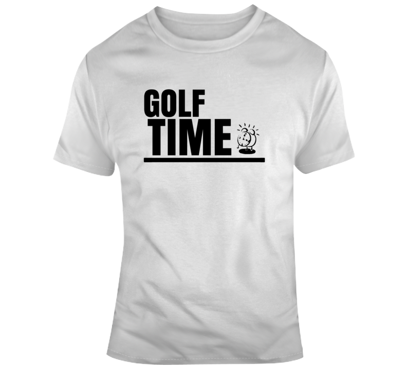 Golf Time Funny Golfer Fan Gift T Shirt