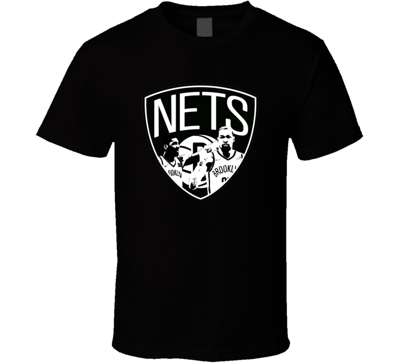 Kyrie Irving And Kevin Durant Brooklyn Nets NBA Basketball Fan Gift T Shirt